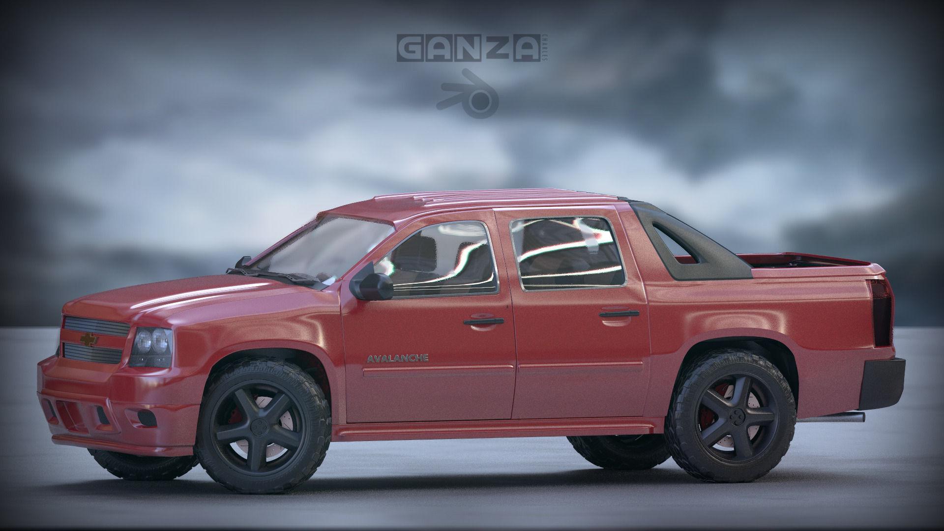 Chevrolet Avalanche 3D model