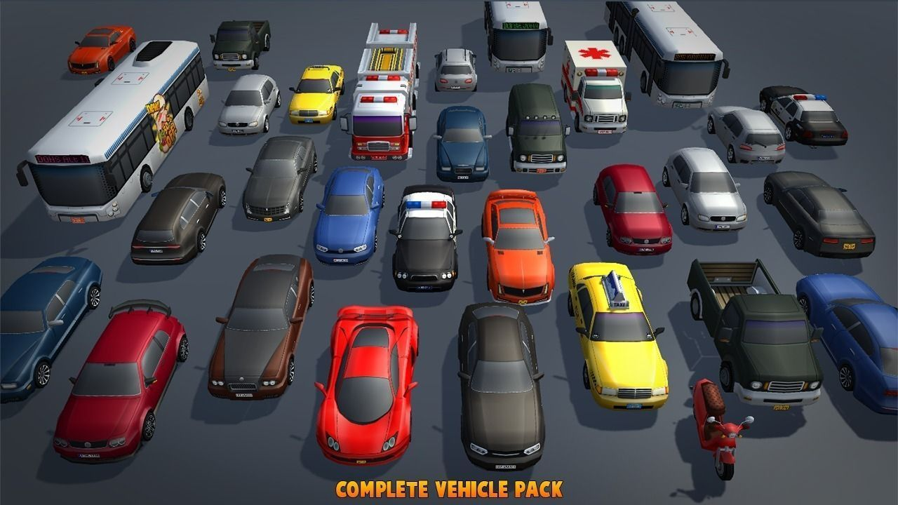 Complete Vehicle Pack V1 | 3D model