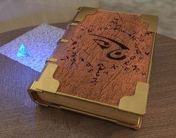 Book Mage 3D asset