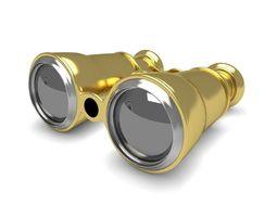 3d opera gold glasses