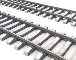 3D model RailRoad way