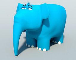 Elephant 3D print model