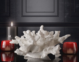 Decoration set by Kelly Hoppen 3D