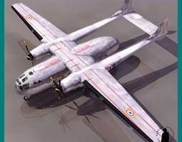 NORD NORATLAS AIRCRAFT 3D Model