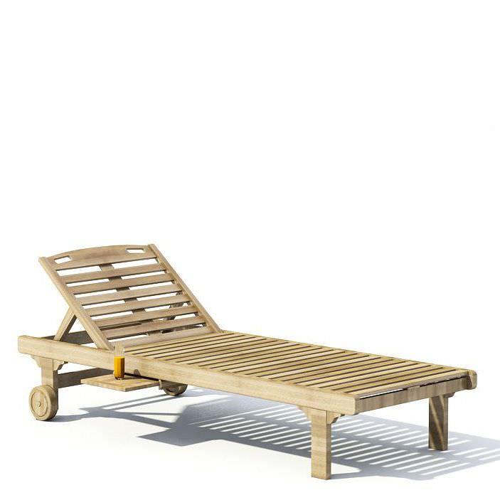 Free wooden chaise lounge plans images for Chaise wooden