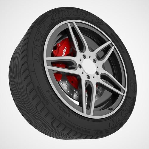 Car Sport Wheel3D model