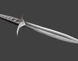 bilbo baggins sword stinger 3d