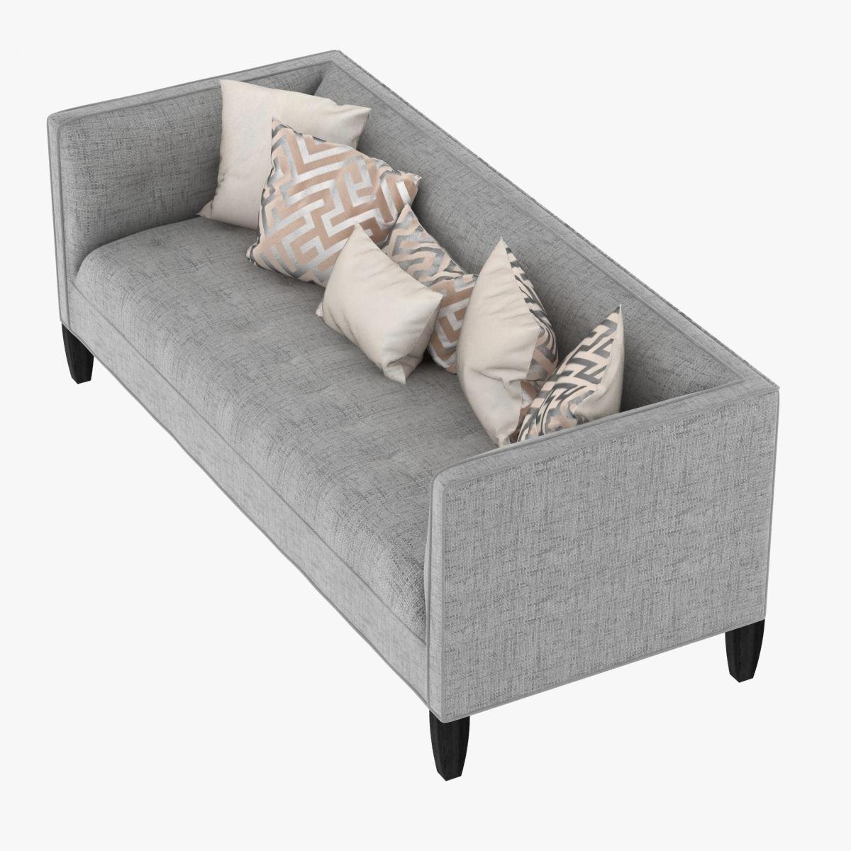 ... Mitchell Gold Bob Williams Kennedy Sofa 3d Model Max Obj Mtl 3ds Fbx ...
