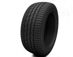 Tire Hankook Ventus S1 3D Model