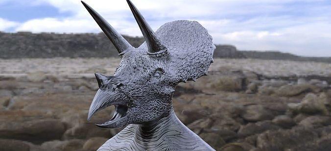 Dino Head 2 Mask