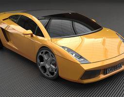 Lamborghini Gallardo 2005 3D model