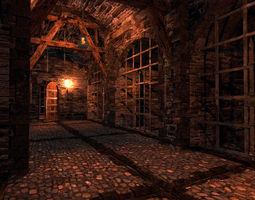 Medieval Dungeon - Modular 3D asset