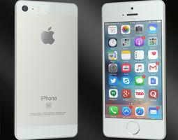 3D model phones Apple Iphone SE