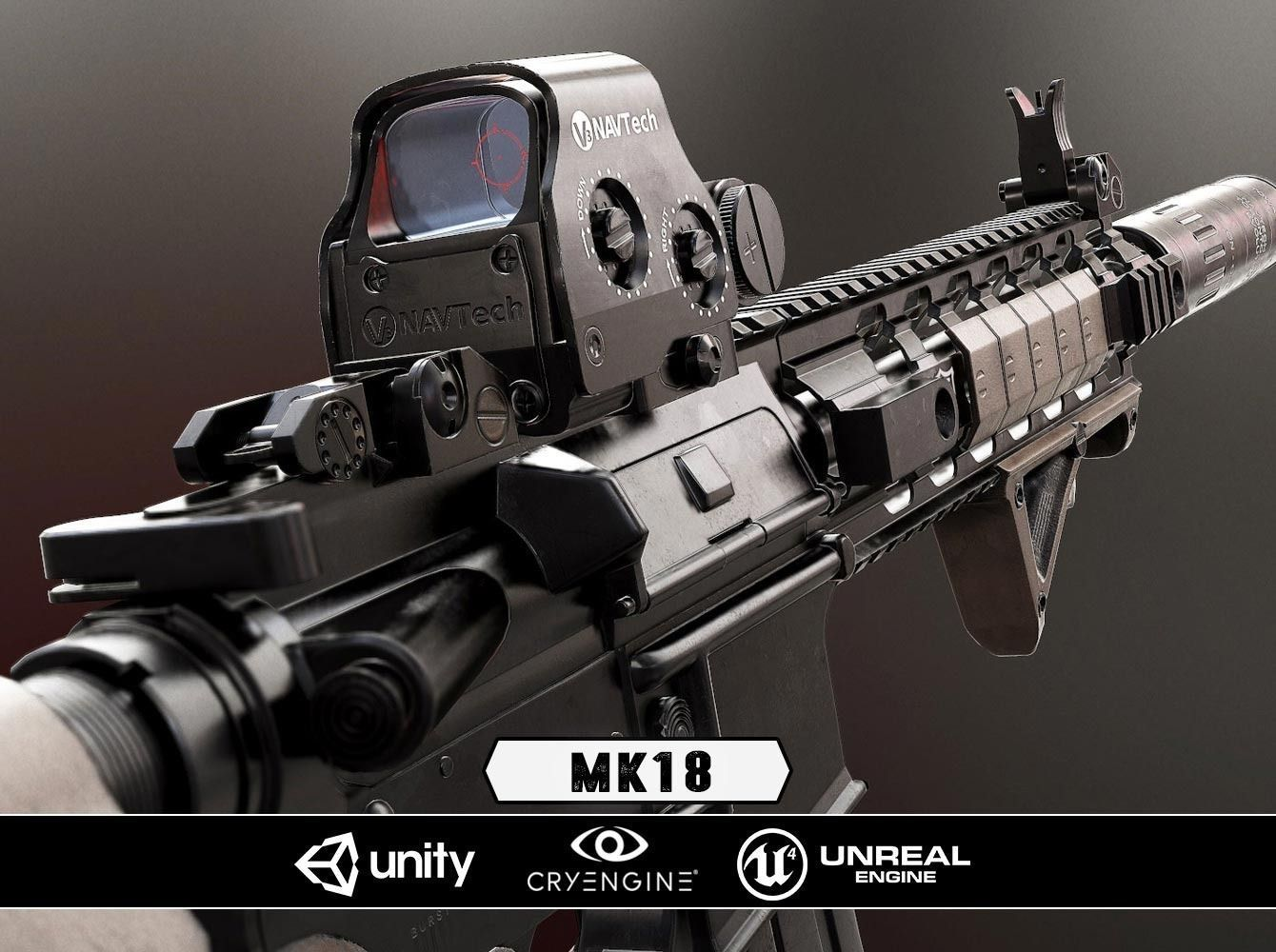 MK18 - Model and Textures