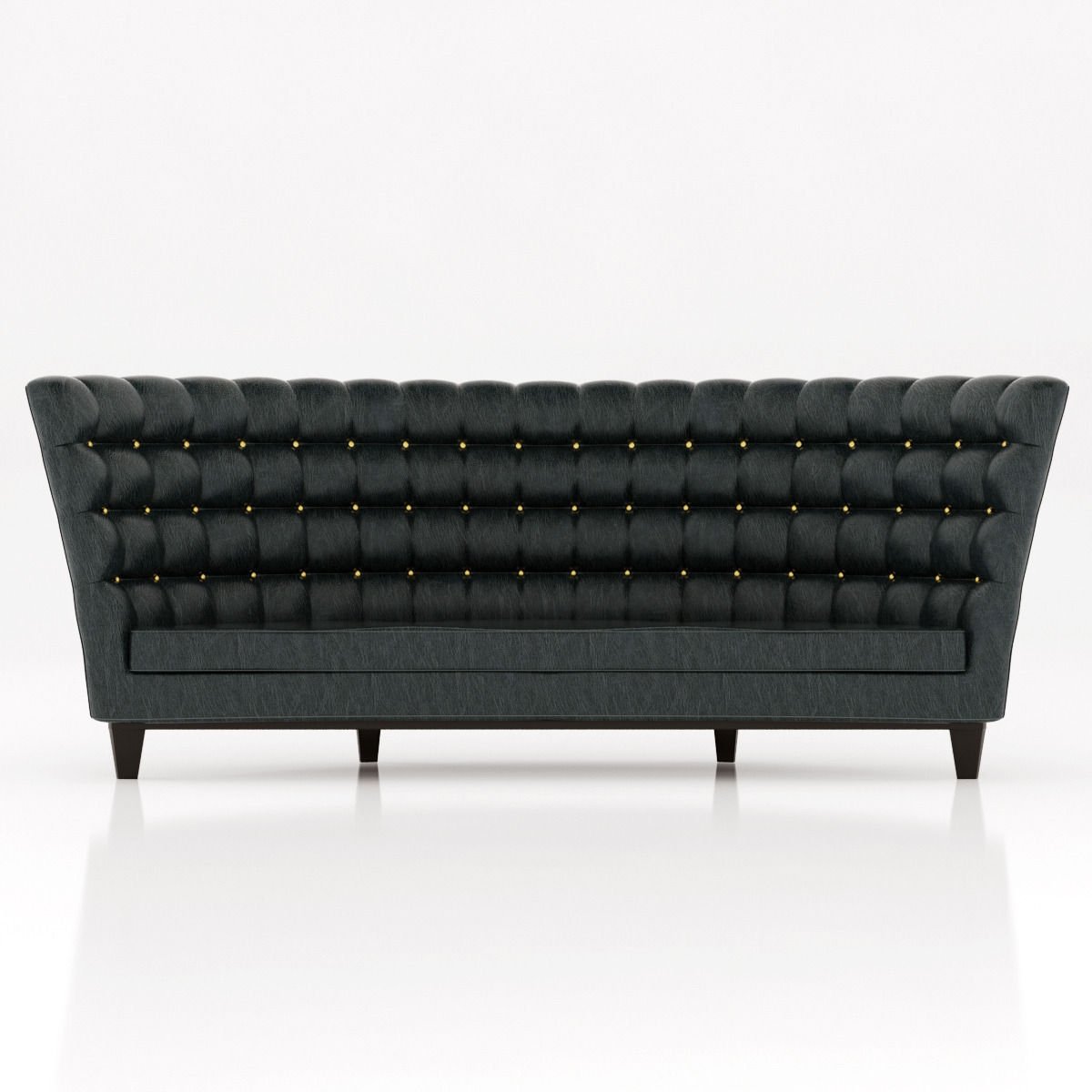 3D model contemporary leather sofa | CGTrader
