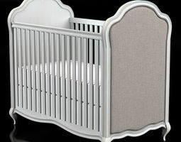 Restoration Hardware Marceline Crib 3D