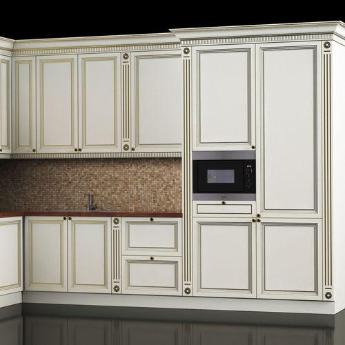 Kitchen Set Sketchup: Classic Kitchen 3D Model MAX