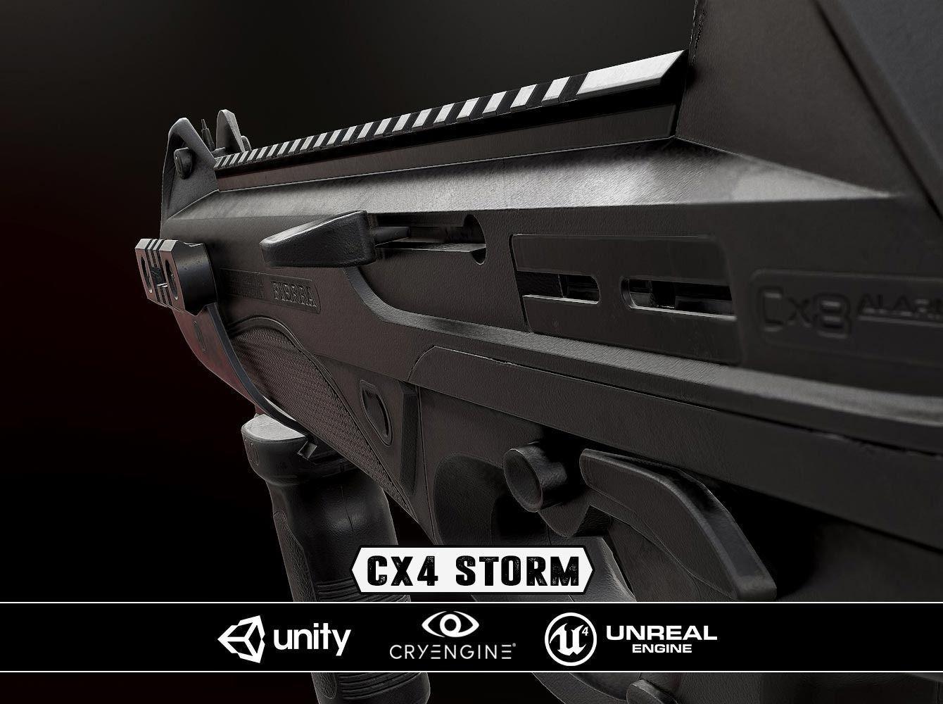 CX4 Storm - Model and Textures