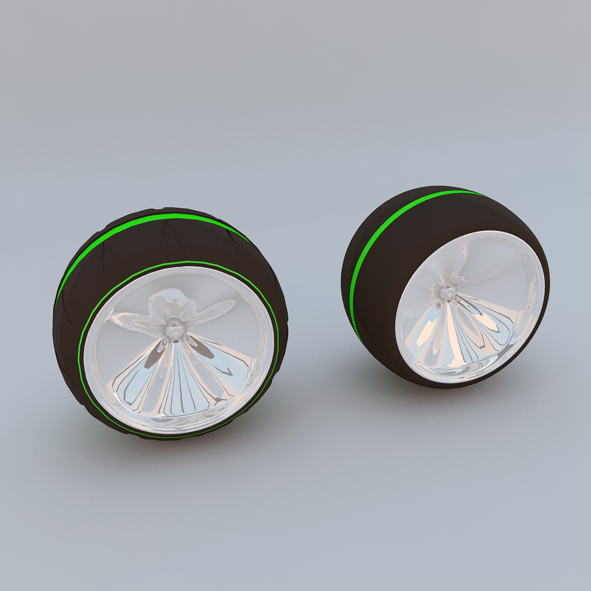 Futuristic wheel concept max 2011 3d model max obj 3ds for Futuristic household items