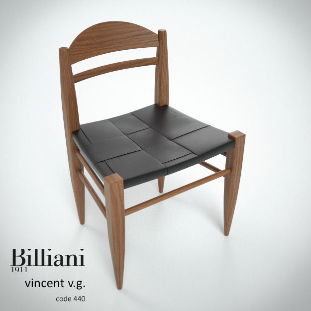 Billiani Vincent VG side chair teak