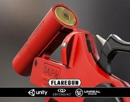 realtime Flaregun - Model and Textures