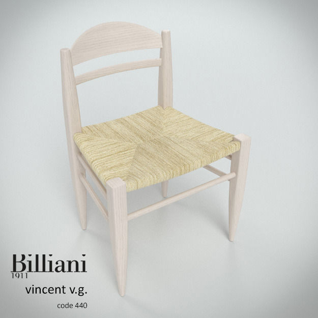 Billiani Vincent VG side chair rope