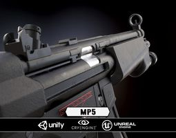 realtime mp5 - model and textures