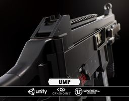 UMP - Model and Textures game-ready