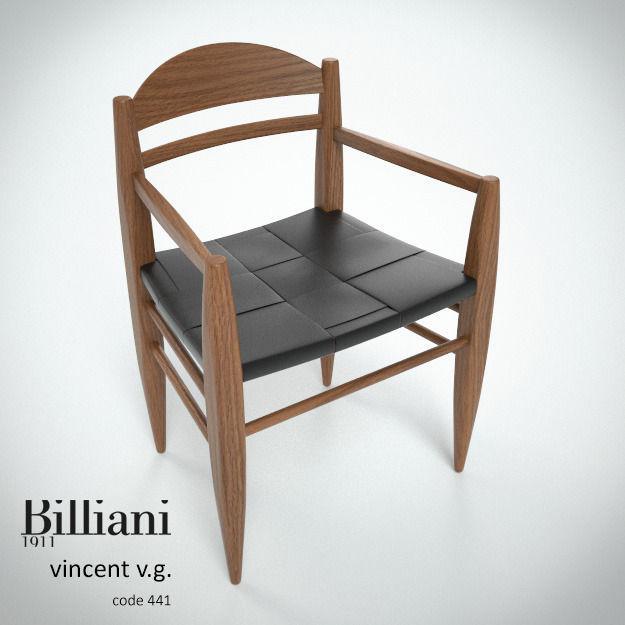 Billiani Vincent VG armchair teak