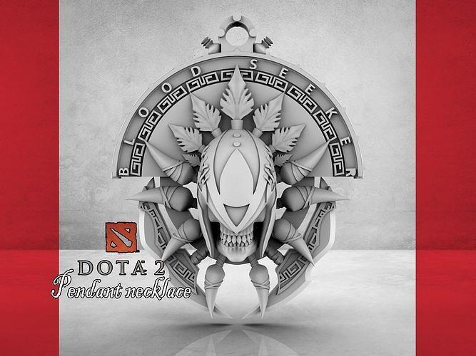 Dota2 Blood-Seeker pendant necklace