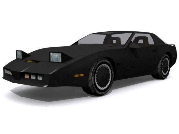 Knight Rider KARR   3D model