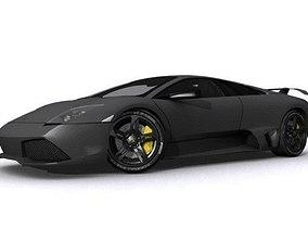 Lamborghini Murcielago LP640 3D asset