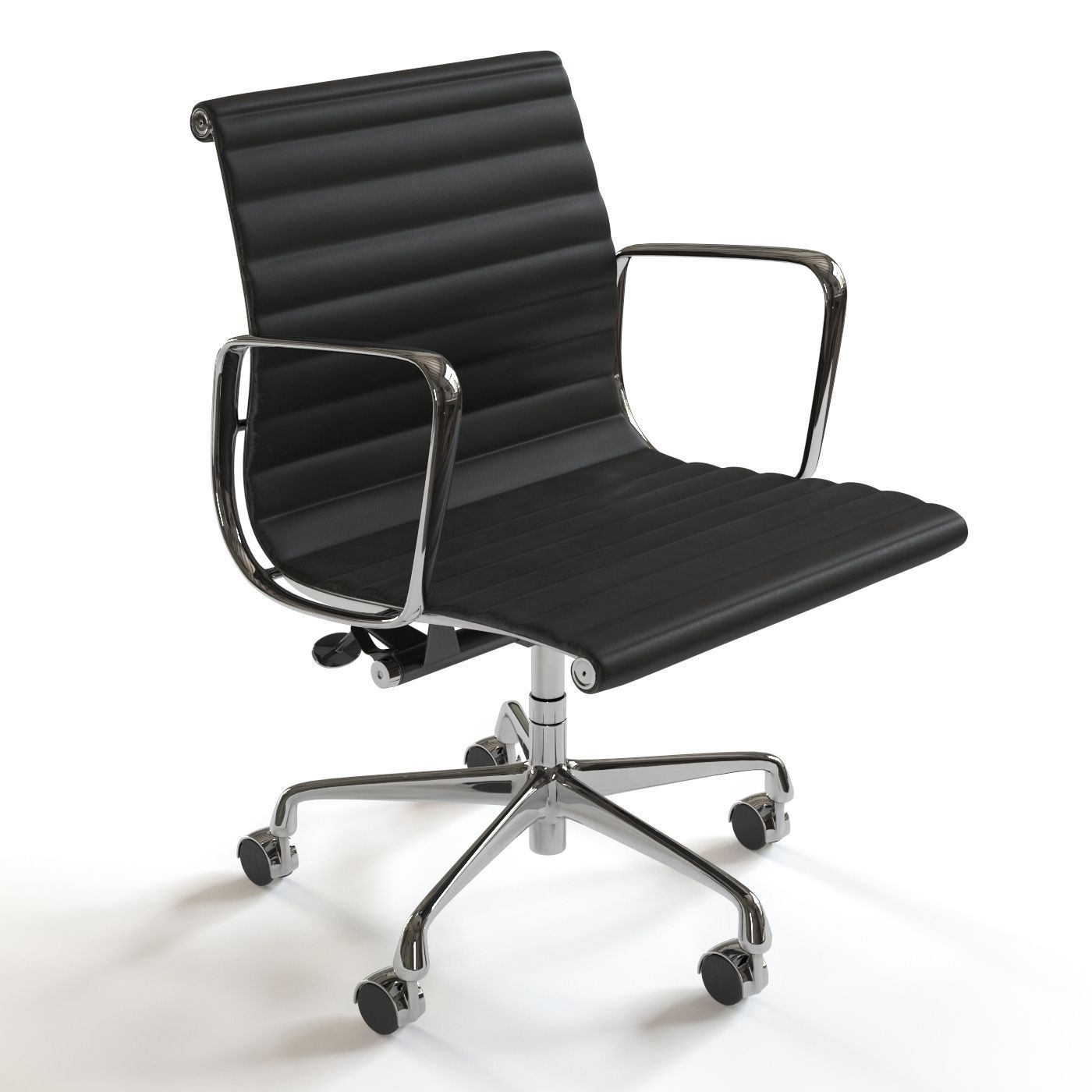 herman miller eames management chair 3d cgtrader