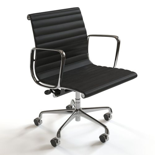 herman miller eames chair. Herman Miller Eames Management Chair 3D Model D