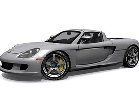 tuner 3D model Porsche Carrera GT