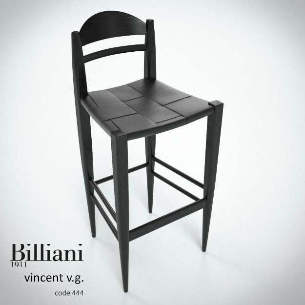 Billiani Vincent VG stool 444 black