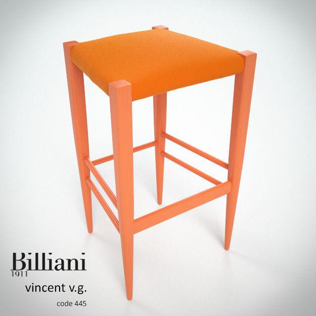 Billiani Vincent VG stool 445