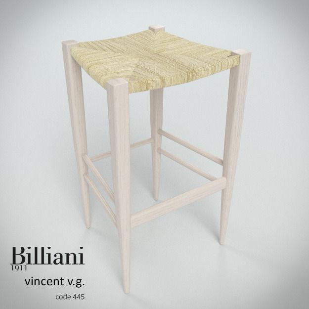 Billiani Vincent VG stool 445 rope
