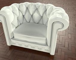 3d model armchair frau by gus