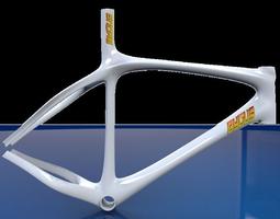 Bike Frame 3D model