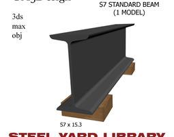 S7 Standard Beam 3D model