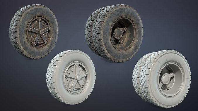 Truck Wheel 03 Kamaz-5320