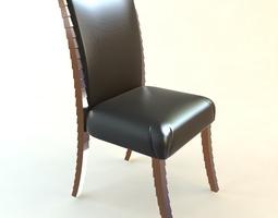 Side Chair upholstery 3D model