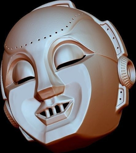 Styx Mr Roboto 3D Kilroy Robot Mask