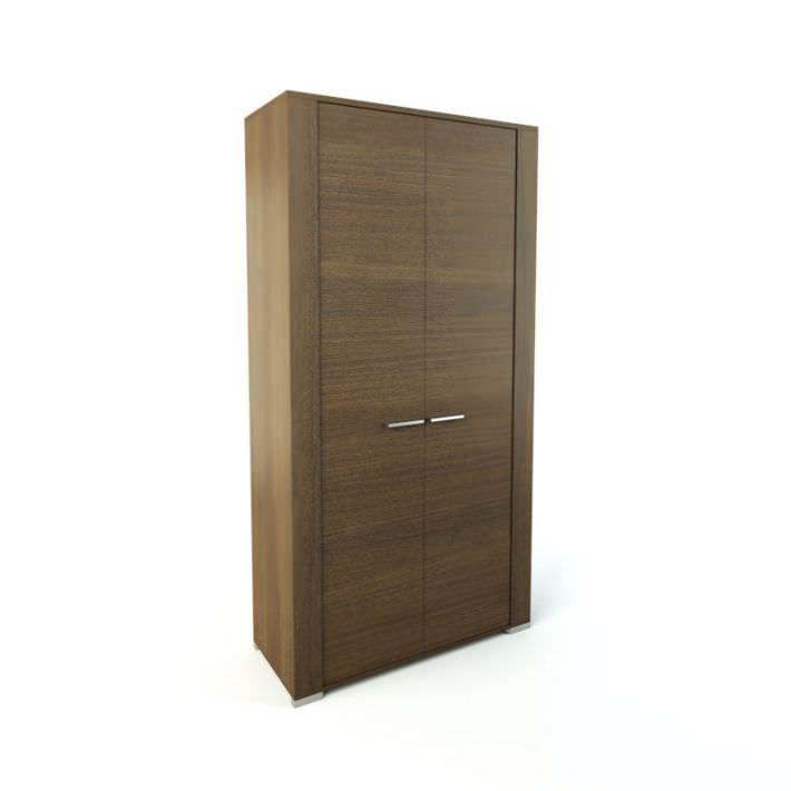 Elite Wooden Cupboard Storage 3D Model - CGTrader.com