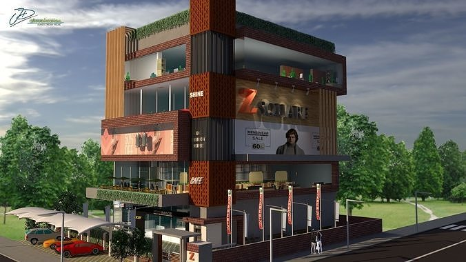 Commercial Building Elevation