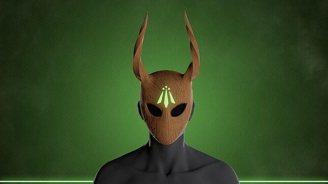 Stylized Druid Mask