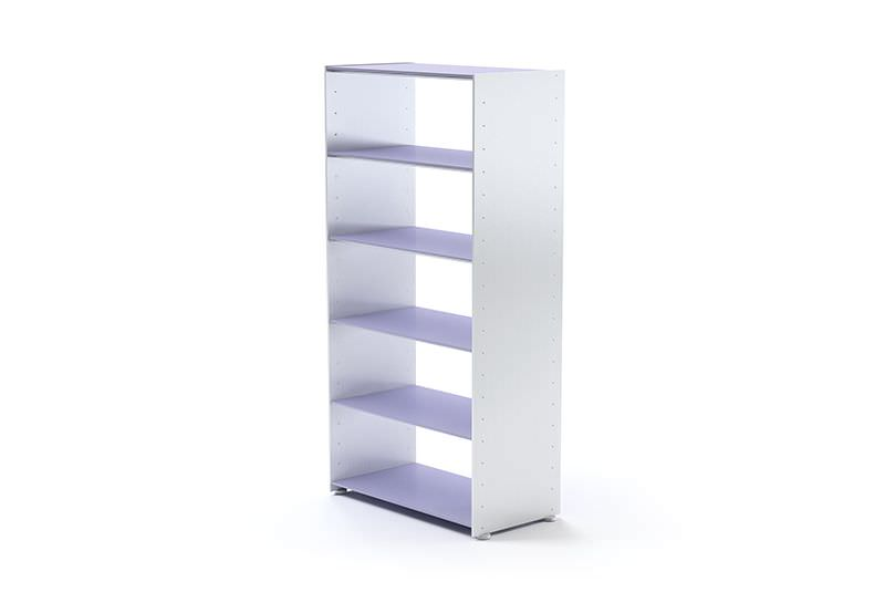 Shelves Free Standing Five Level White 3d Model