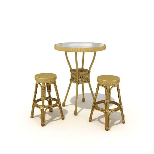 Restaurant Furniture Table Chairs3D model