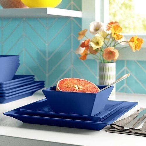 12 Piece Dinnerware Set - 2 colour